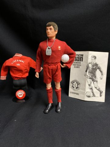 ACTION MAN - VINTAGE - LIVERPOOL FOOTBALLER (ref4)